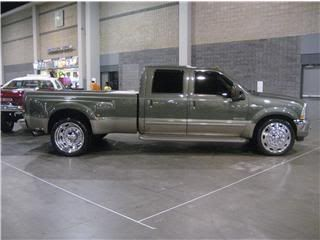 Ford Dually on 24 | Thread: 2004 Ford F350 King Ranch Dually PSD 6.0 Diesel