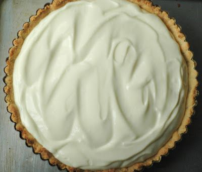 Easy recipe for a creamy Key Lime Pie. I would dress this up with homemade whip cream, fresh raspberries, blackberries and blueberries. Yum!