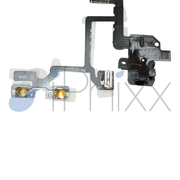 This audio flex cable replacement for your iPhone 4 device includes the headphone jack, volume buttons and mute switch. If you are having issues with any of these parts, this is the component you will need to restore functionality to your device.  - See more at: http://www.iphixx.com/shop/apple-iphone/apple-iphone-4/iphone-4-audio--volume-mute-switch-flex-cable#sthash.NyXAZlbf.dpuf