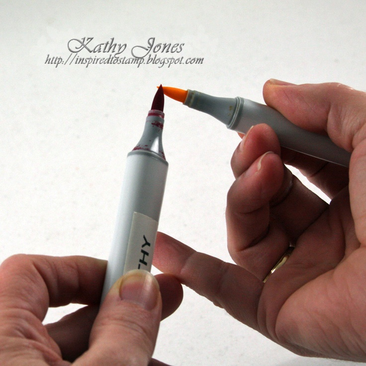 Copic Tip to Tip Technique By Kathy Jones