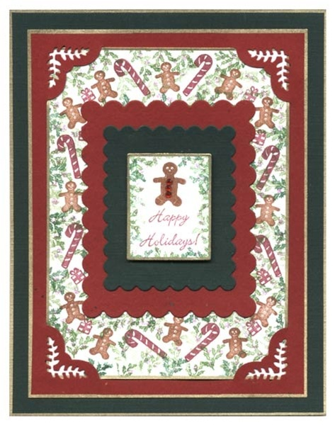 Christmas/Rubber Stamp Tapestry
