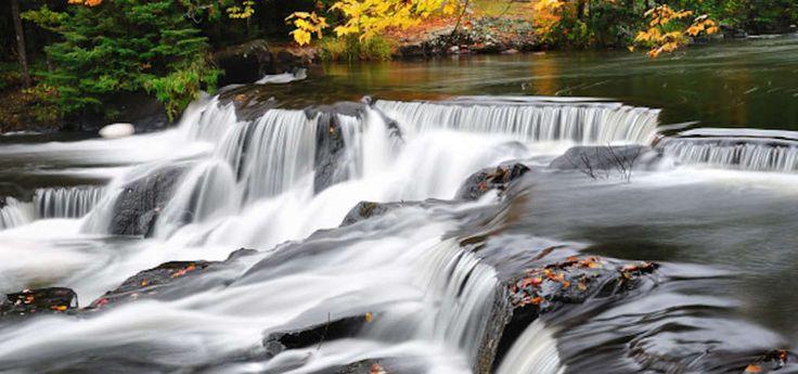 5 Stunning Michigan Waterfalls