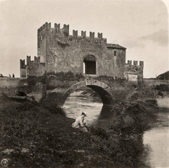 Nomentano Bridge 'the only medieval bridge in Rome'  Read further comments and great info