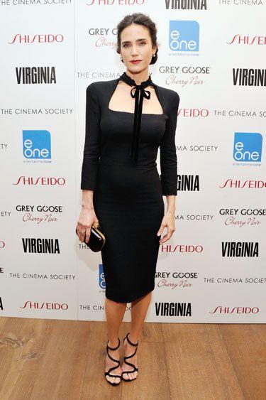 The Best Little Black Dresses of 2012 - Jennifer Connelly in Alexander McQueen