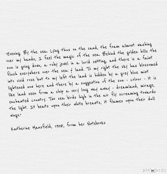 English Writing-Katherine Mansfield