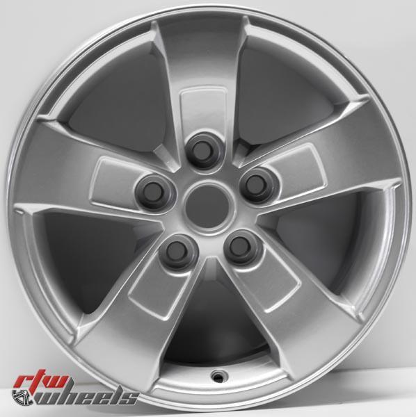 """16"""" Chevy Malibu oem replica wheels 2013-2016 Silver rims - https://www.rtwwheels.com/store/shop/16-chevy-malibu-oem-replica-wheels-for-sale-silver-rims-aly05558u20n/"""