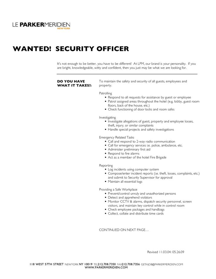 Door Security Officer Jobs
