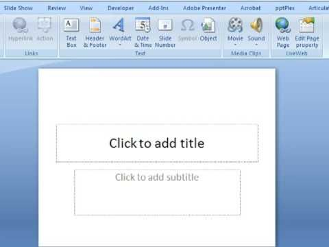 Import Google Docs Video Clips into PowerPoint