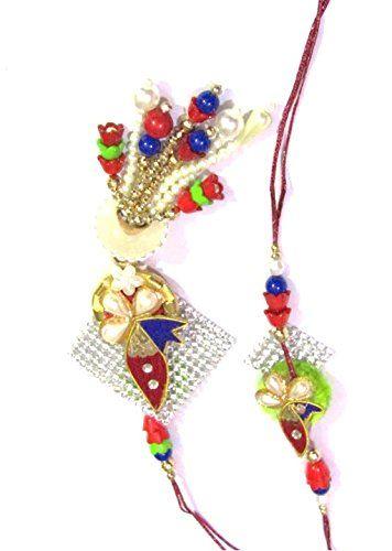#Nky #Rakhi #Multicolor #Silk #Thread #Rakhi For #Women