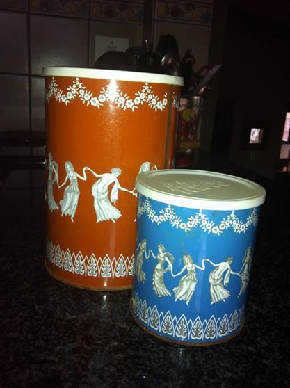Koffie / Coffee/ old tin/ memories/ remember this/ onthou