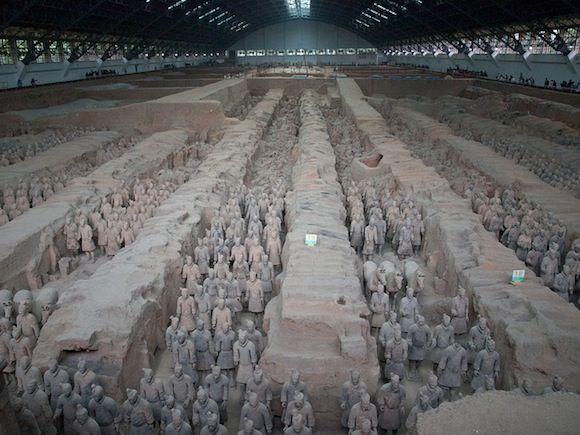 Curiosidades e información practica para la visita a los Guerreros de Terracota en Xian. Que ver en tus vacaciones en China.