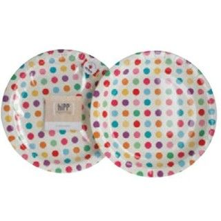 Carnival Spot Multicoloured Polka Dot Paper Party Plates - 12 Pack  sc 1 st  Pinterest & 190 best Polka Dot / Stripes party images on Pinterest | Dots Polka ...