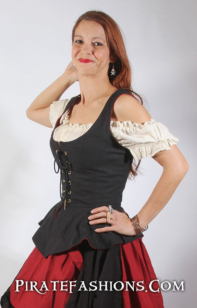 Tortuga Bodice Reversible – Pirate Fashions