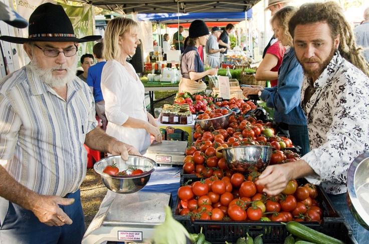 Byron Bay Markets - Thursdays 7am - 11am #byronbay #byron #australia #lifestyle