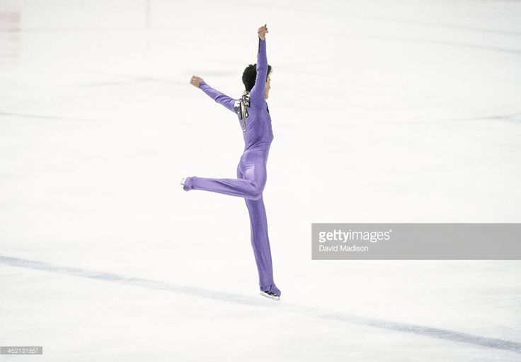 Brian Orser (CAN) skates his Long Program of the Men's Singles competition in the 1984 Winter Olympics held at the Zetra Ice Hall in Sarajevo, Yugoslavia in February, 1984. Orser was the Silver Medalist in the event.