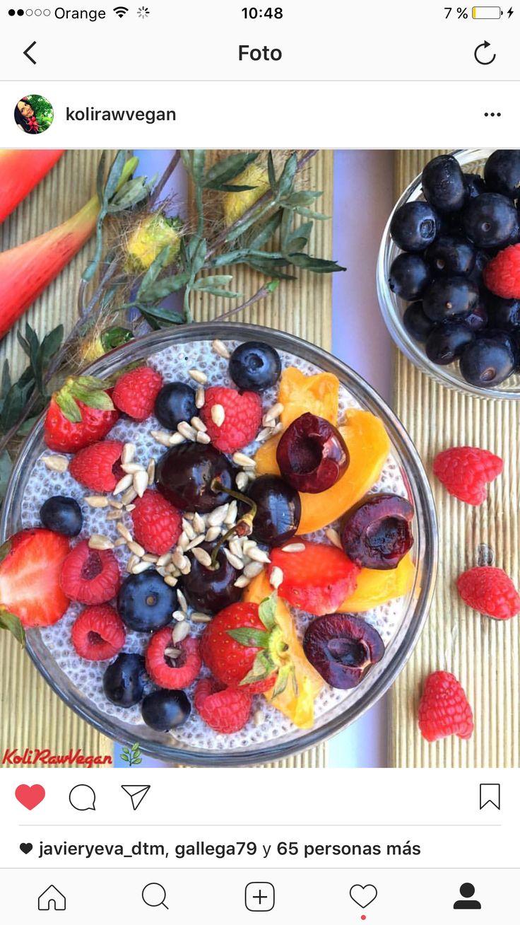 Siempre semillas de chia como desayuno! Superalimento!!!👌