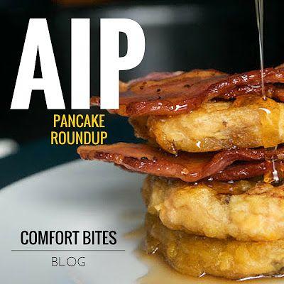 6 AIP, Egg-Free Paleo Pancake Recipes