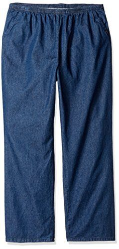 New Trending Denim: Chic Classic Collection Womens Petite Plus Stretch Elastic Waist Pull-on Pant, Original Stonewash Denim, 26P. Chic Classic Collection Women's Petite Plus Stretch Elastic Waist Pull-on Pant, Original Stonewash Denim, 26P  Special Offer: $17.99  300 Reviews This relaxed fit elastic waistband pull on pant is the perfect casual pant and will become a wardrobe favorite. It is made from 100...