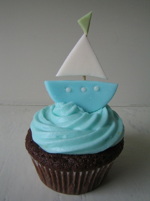 1000 Images About Sea Boat Cupcakes On Pinterest Sea