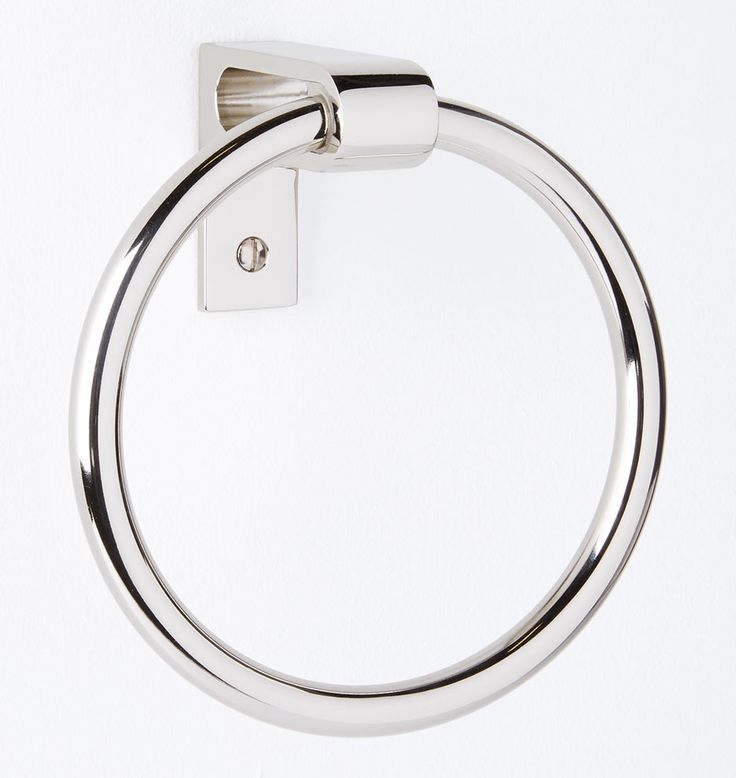West Slope Towel Ring - | Rejuvenation
