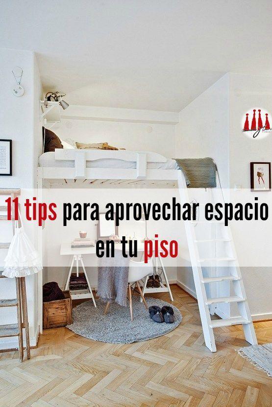 Pisos de alquiler en Barcelona: 11 tips para aprovechar el espacio en un piso pequeño | http://gaudi-house.es/