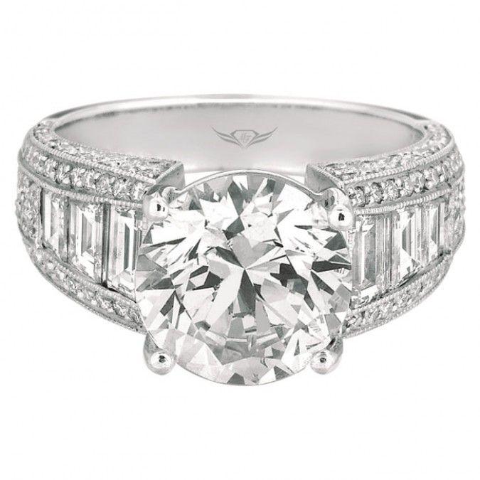 Martin Flyer FlyerFit Bridal Channel Engagement Ring