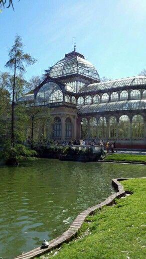 Palazzo di cristallo #Madrid