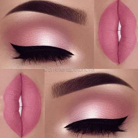 So cool look at this ibal lip and eye