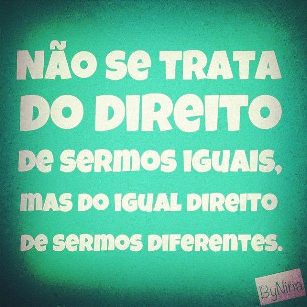 "@instabynina's photo: ""Autor desconhecido #frases #respeito #autenticidade #instabynina"""
