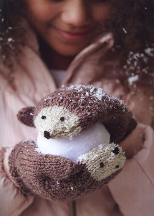 Knitted Animal Scarves, Mitts, and Socks  - 2015
