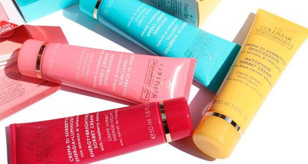 Collistar Creme di Sorbetto: lenitiva, idratante, opacizzante, illuminante - http://www.beautydea.it/collistar-creme-sorbetto-lenitiva-idratante-opacizzante-illuminante/ - Creme di Sorbetto Collistar con estratti di frutta: scegli la variante perfetta per la tua pelle!