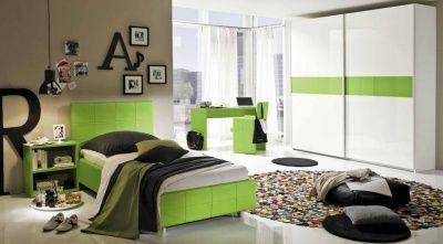 Camera da letto completa verde idelshop