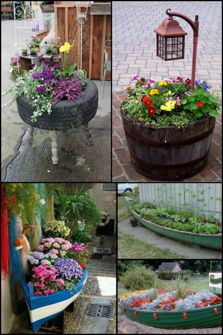 48 Unique Garden Planter Ideas You Can Build Yourself Http