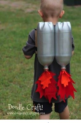 rocket boy costume
