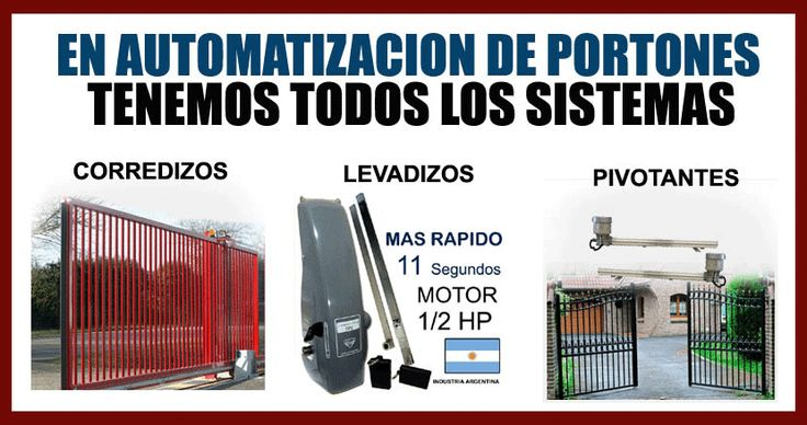 (9) Motor Porton Corredizo Rio Turbo Ppa Garantia Escrita Kit - $ 3.349,00 en Mercado Libre