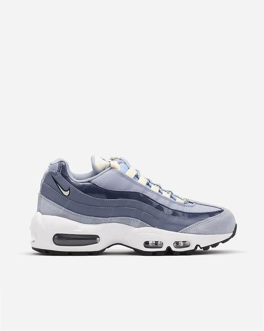 Nike Air Max 95 Glacier Grey/Muslin Light Carbon Womens Sneaker 307960-007