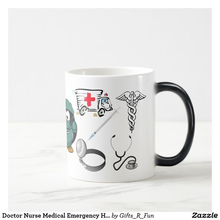 Doctor Nurse Medical Emergency Hospital EMT Love Magic Mug