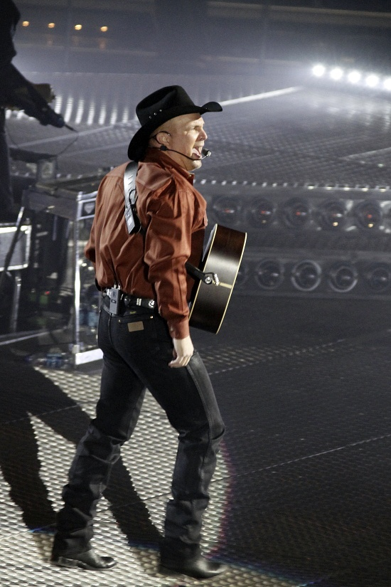 Garth Brooks - stood in line for 8 hours to see this man in concert. Definately worth it!!
