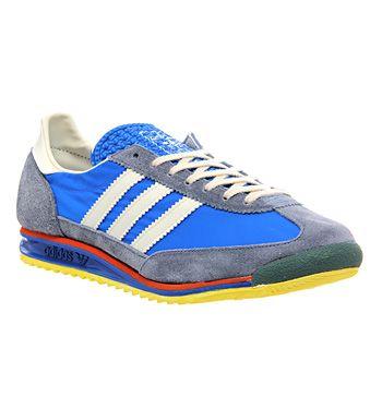 Adidas Sl 72 Blue Grey Cream - Unisex Sports