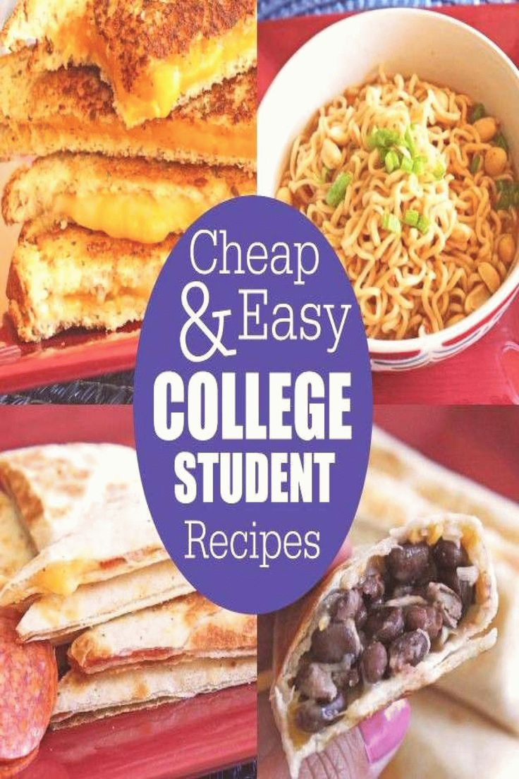 Easy meals for college students recipes check