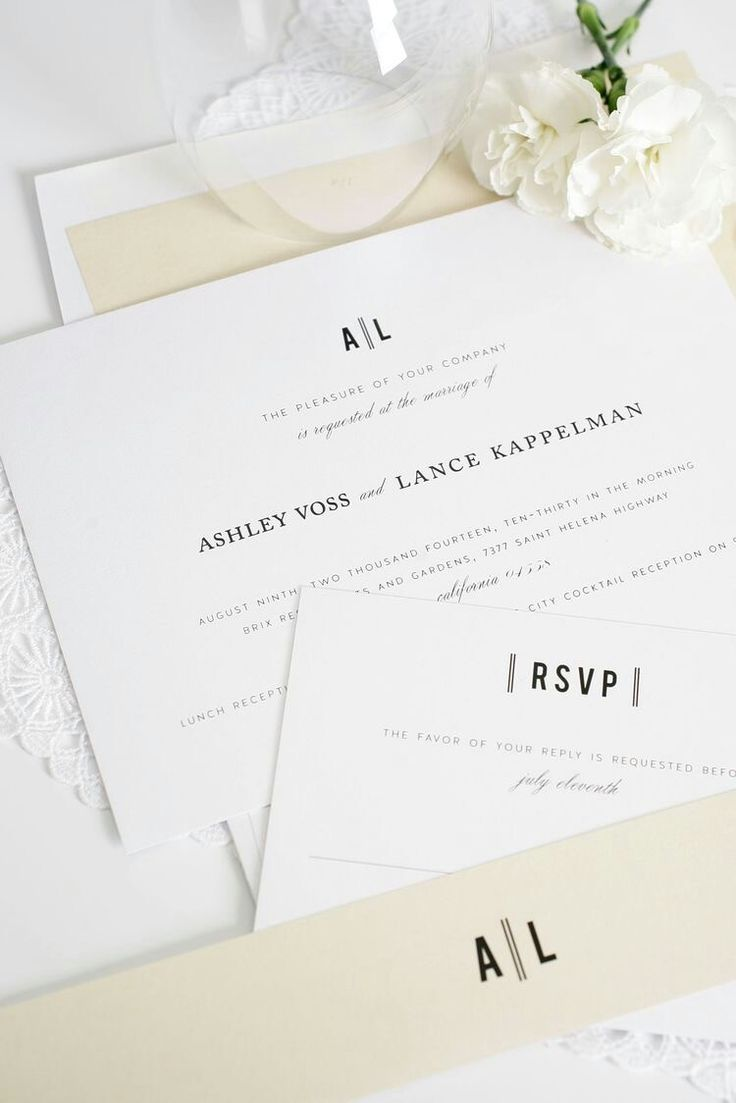 wedding invitation letter formats%0A Looking for modern yet classic wedding invitations  Ask us how we can  customize our Urban Vintage wedding invitations to your color palette