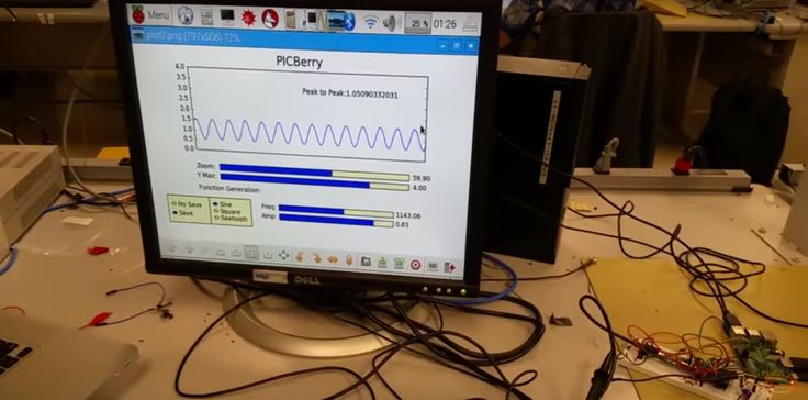 PicBerry is both a Digital Oscilloscope and Function Generator created using a Raspberry Pi. It is great for learning how electrical waveforms work.