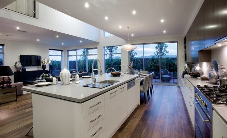 17 best images about open kitchen living room on pinterest for Porter davis home designs