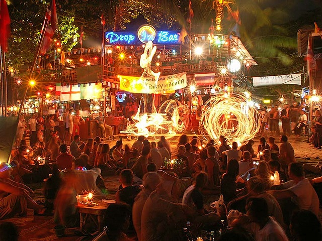 THAILAND-Full Moon Party. Koh Phangan, Thailand, dragon temple, Bankok, Ko tarutao    The #1 rated full moon party
