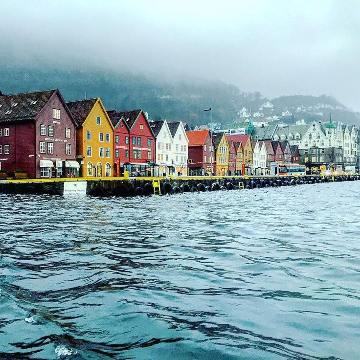 Bergen Norway's Second City and the Gateway to the Fjords. Photo by @elekosha on Instagram.