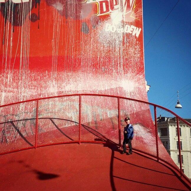 Den Røde Plads, Nørrebro, Kbh, DK.