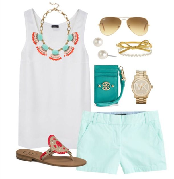 Pretty summer outfit