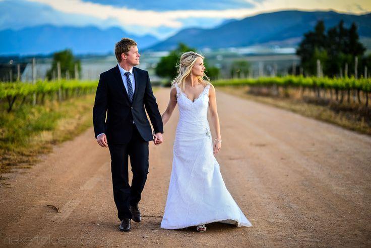 Winelands wedding South Africa.