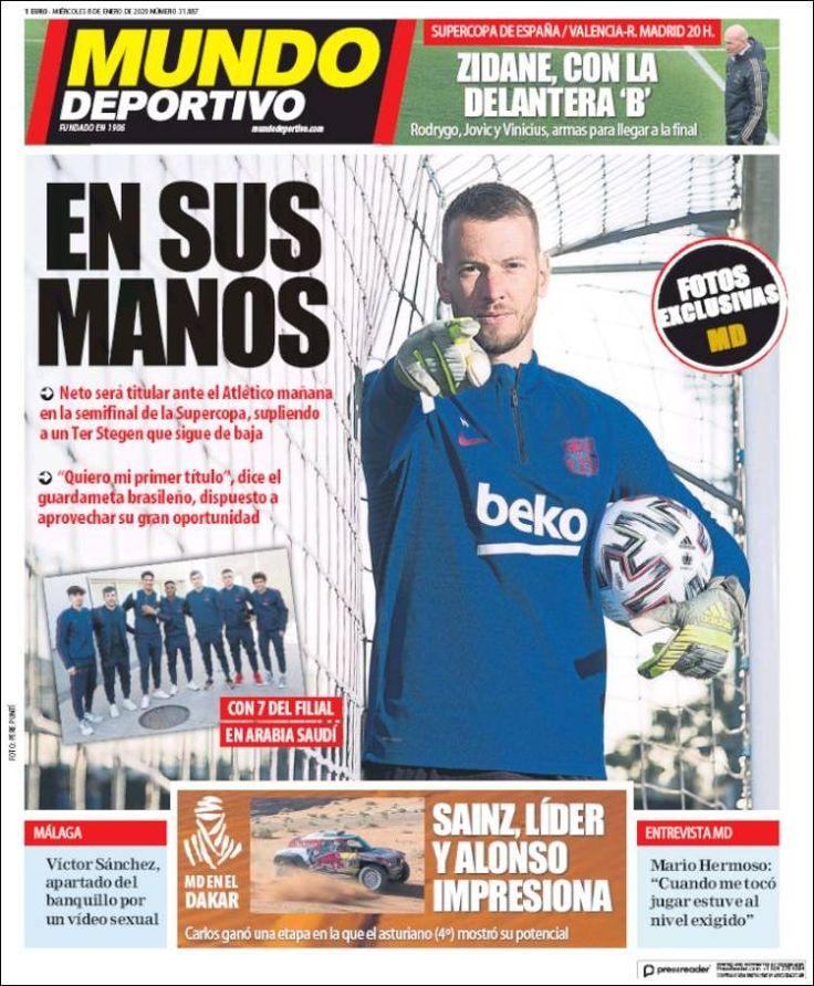 20200108 Periódico El Mundo Deportivo (España
