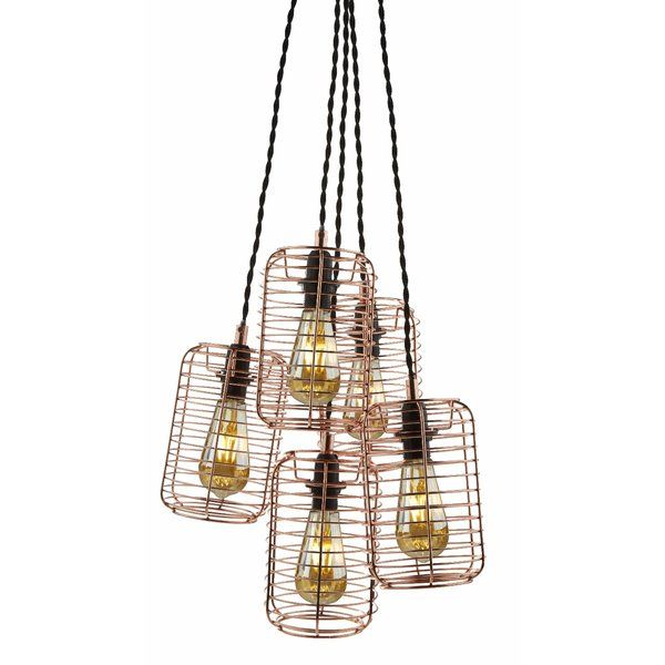 You'll love the 5-Light Cluster Pendant at Wayfair.co.uk - Great Deals on all Lighting products with Free Shipping on most stuff, even the big stuff.